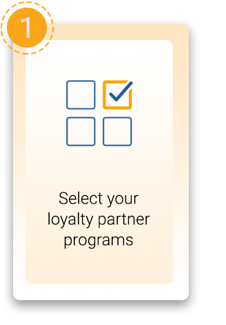 Select loyalty partner program