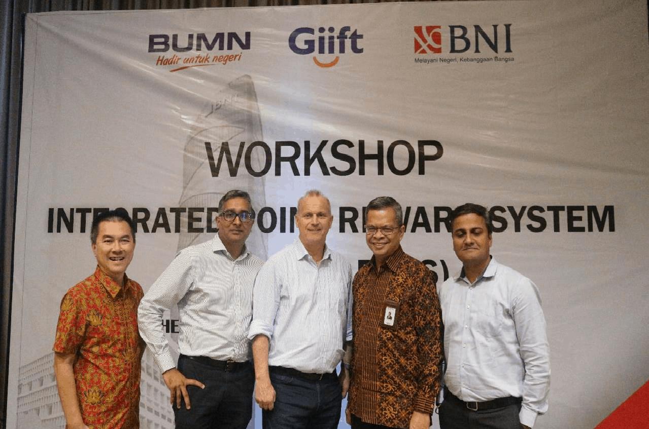 #Workshop Bank Negara Indonesia (BNI) / Giift