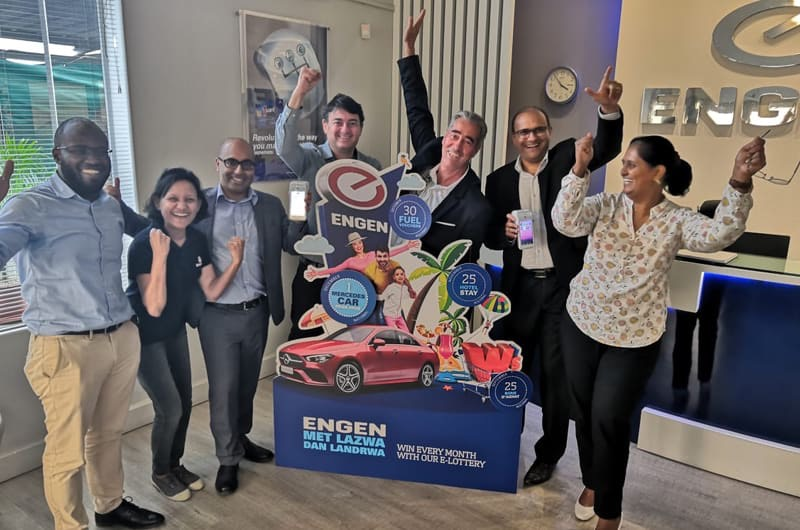 Giift Fuels Loyalty for Petroleum Giant Engen With a Digital Lottery Solution!