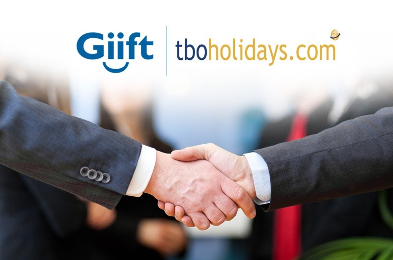 TBO Holidays partners with Giift for a travel agents loyalty program