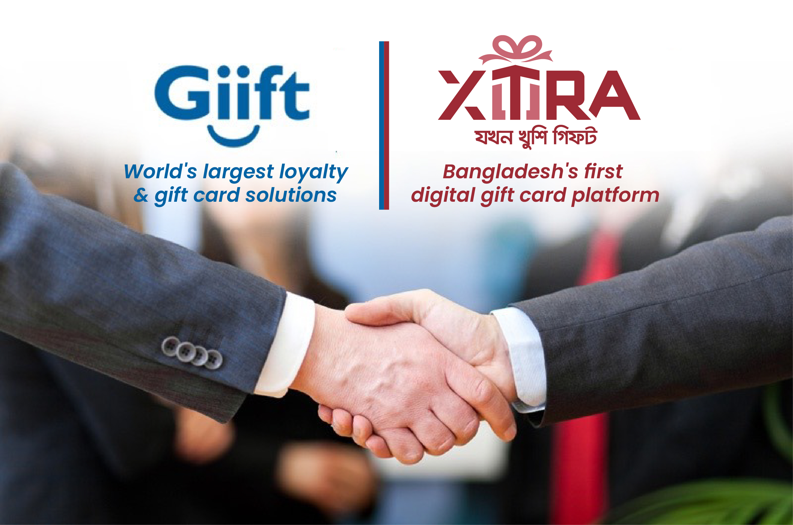 Giift ties up with Xtra, Bangladesh's leading gift card platform!